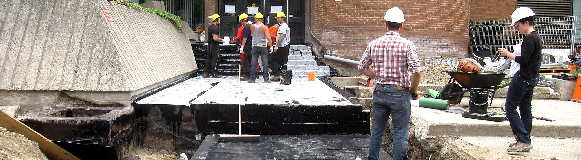 Conestoga College Waterproofing